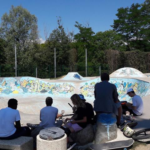 Stage itinérant Skatepark de Grenoble