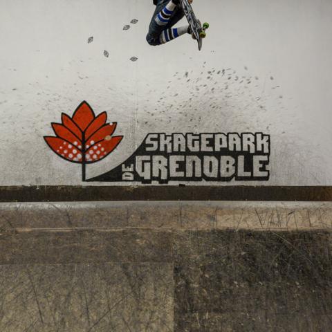 Melon sortie bowl Yoan Delassus Skatepark de Grenoble