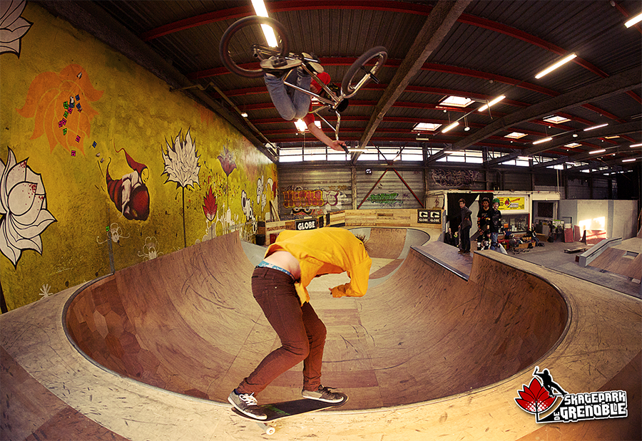 Carte planning Skatepark de Grenoble 2012-2013