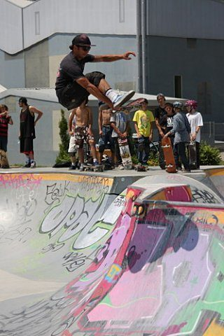 Crolles contest Skatepark de Grenoble