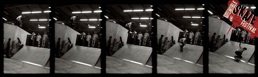 Bannière Grenoble skate festival 2008 Skatepark de Grenoble