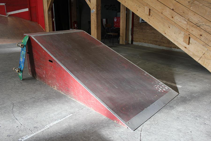 Plan incliné module à louer Skatepark de Grenoble