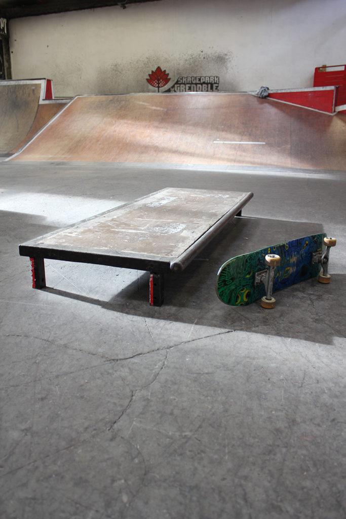 Table module à louer Skatepark de Grenoble