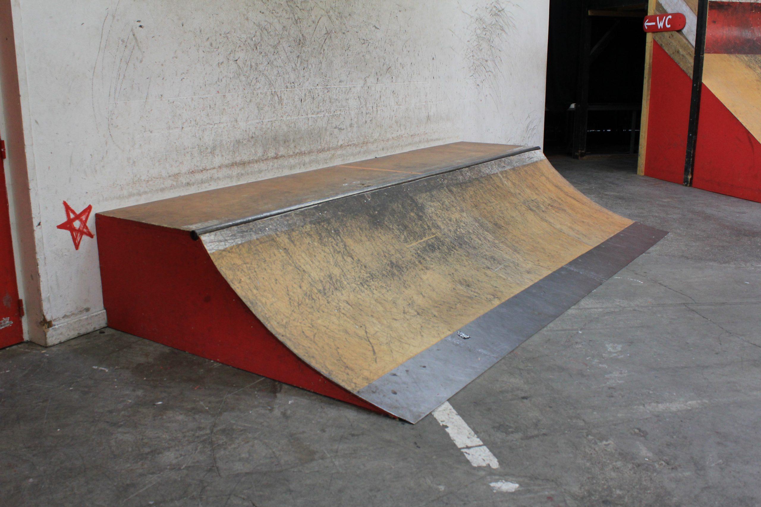 Petite courbe Skatepark de Grenoble