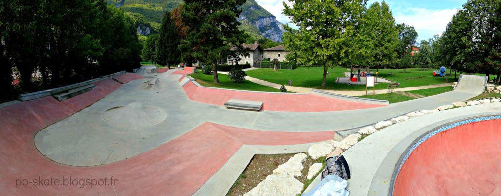 Skatepark de Fontaine street