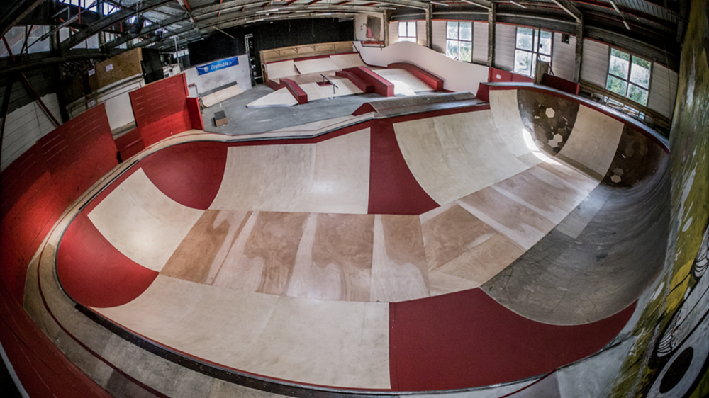 Bowl Skatepark de Grenoble