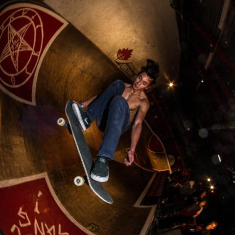 Skatepark de Grenoble Supra Skate Rock 2017 Samuel Geoni