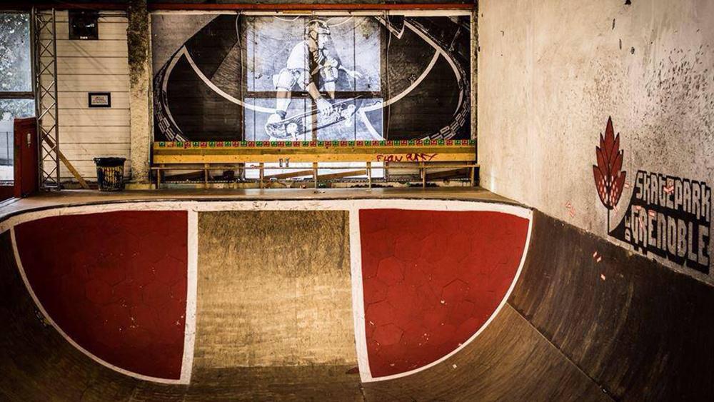 Grosse partie bowl Skatepark de Grenoble