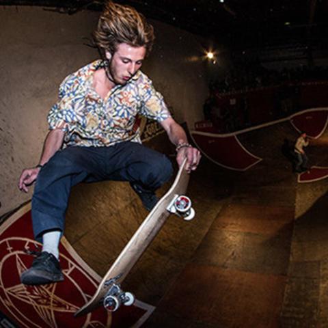 Skatepark de Grenoble Supra Skate Rock 2017 Eliott Auffray