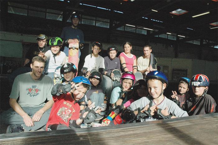 Accueil groupes skatepark de Grenoble