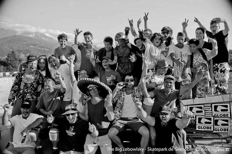 Big Lebowlski Crolles Skatepark de Grenoble
