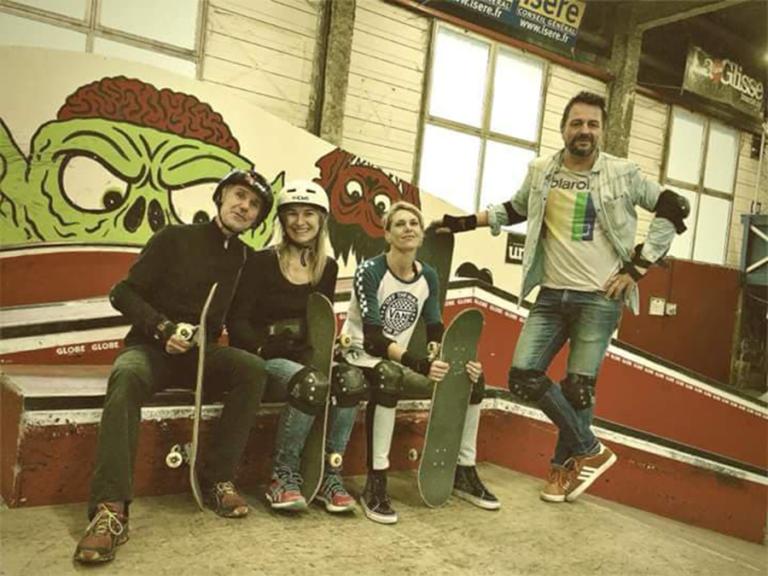 Stage skate adutles 2018 Skatepark de Grenoble