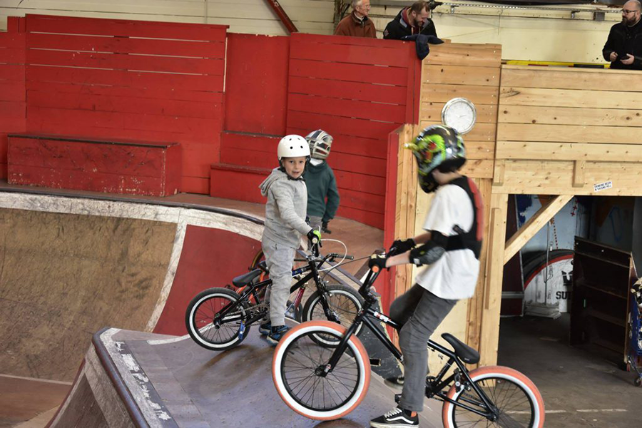 Cours BMX Skatepark de Grenoble