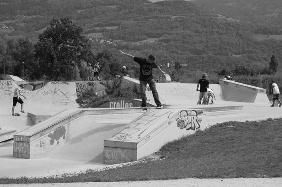 Skatepark de Crolles street