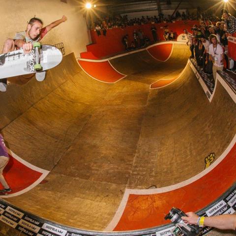 Skatepark de Grenoble Supra Skate Rock 2017 Yoan Delassus