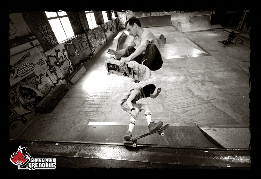 Carte planning Skatepark de Grenoble 2009-2010