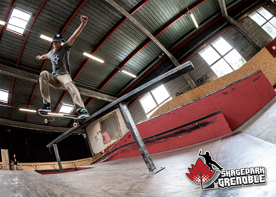 Carte planning Skatepark de Grenoble 2013-2014
