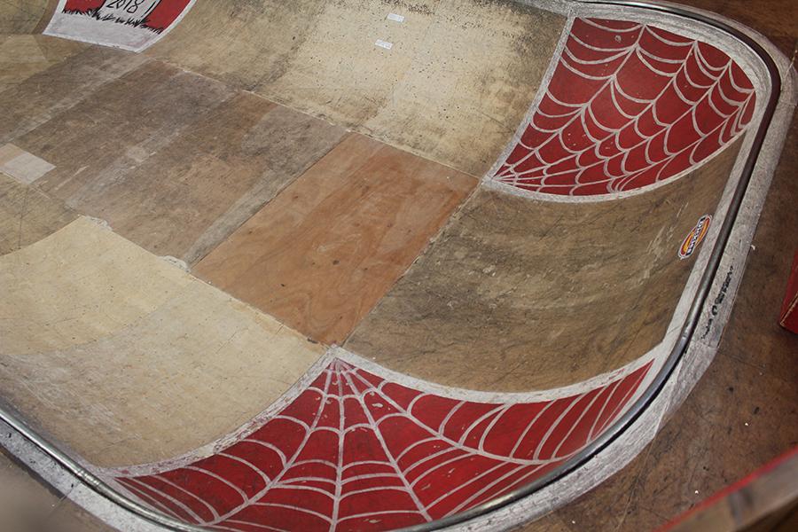 Bowl corner Skatepark de Grenoble