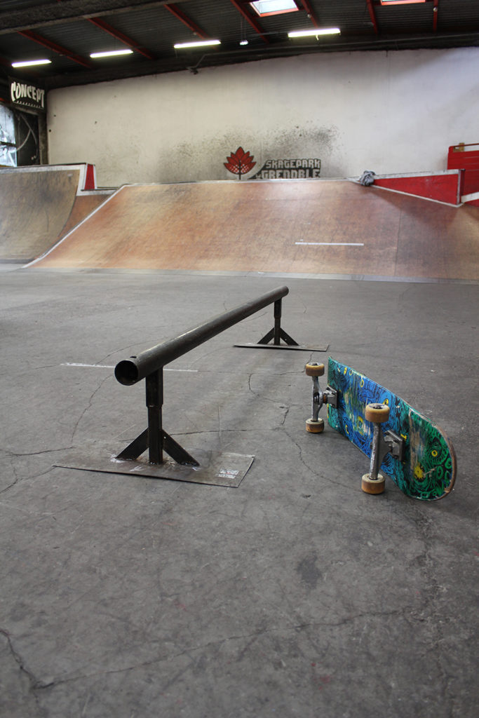 Flat bar module à louer Skatepark de Grenoble